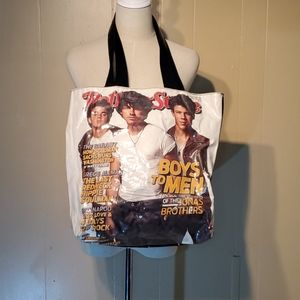 Rolling Stones Boys to Men Tote